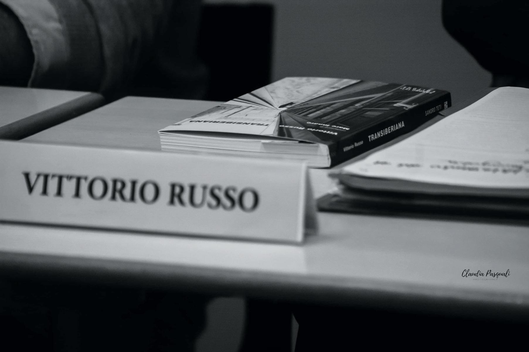 Presentazione del libro Transiberiana di Vittorio Russo.