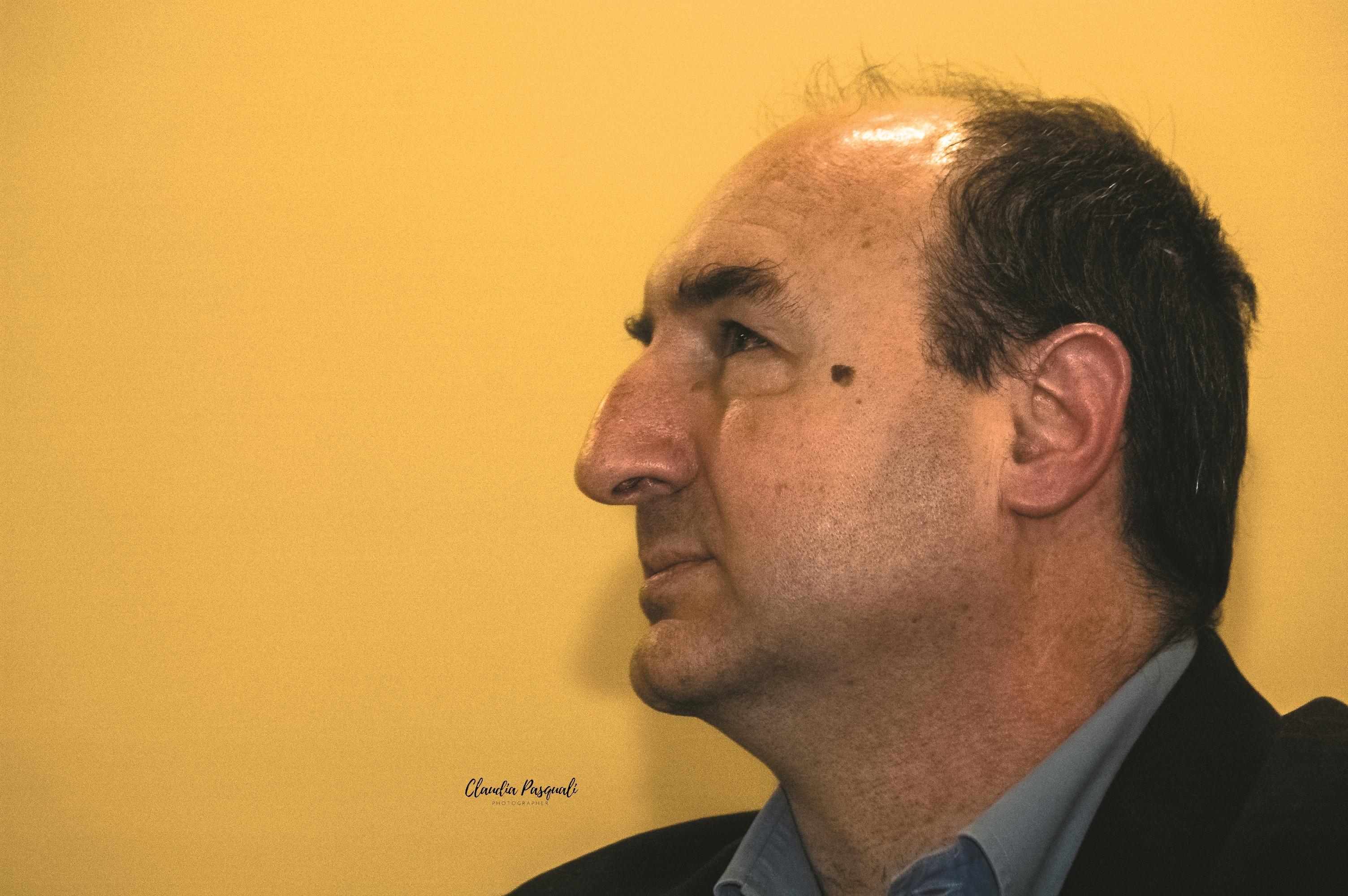 """Presentazione del libro di Marco Forneris """"Il Cinema de Il Calendario del Popolo"""" a Più Libri Più Liberi. Nella foto: Silvio Celli."""