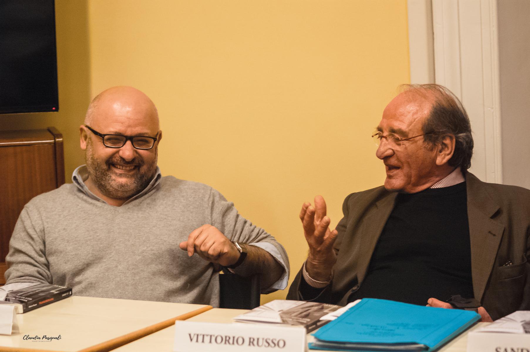 Presentazione del libro Transiberiana di Vittorio Russo. Leonardo Fredduzzi e Vittorio Russo
