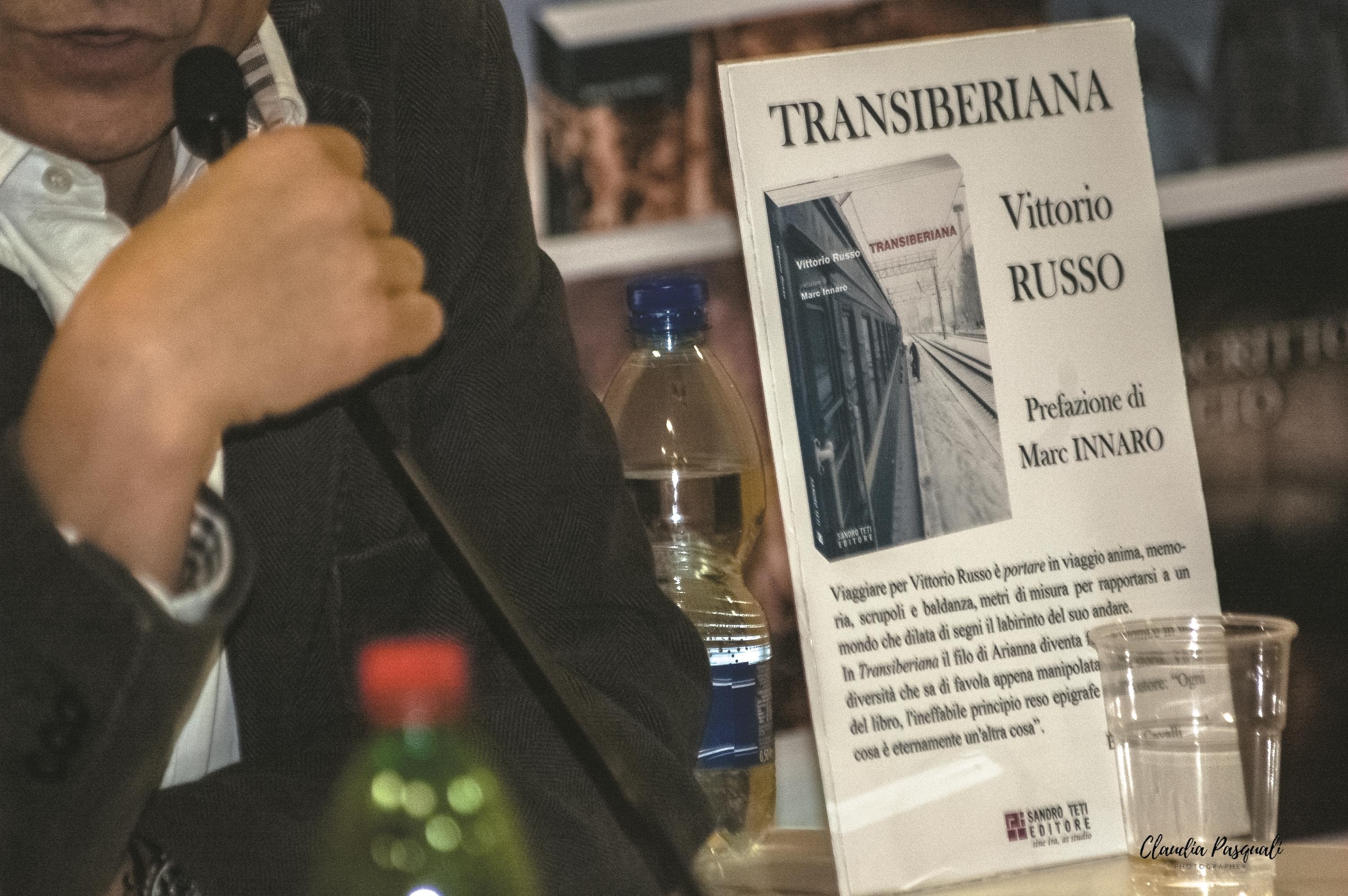 """Presentazione del libro di Vittorio Russo """"Transiberiana"""" a Più Libri Più Liberi."""