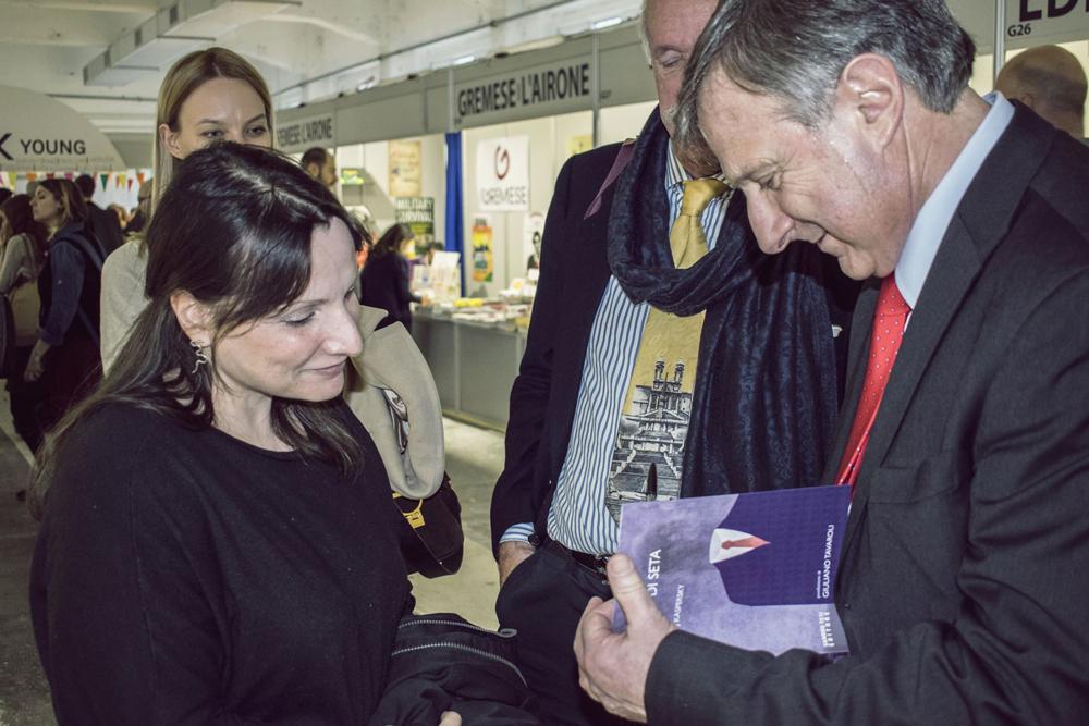 Consuelo Hernandez e l'autore Marco Forneris
