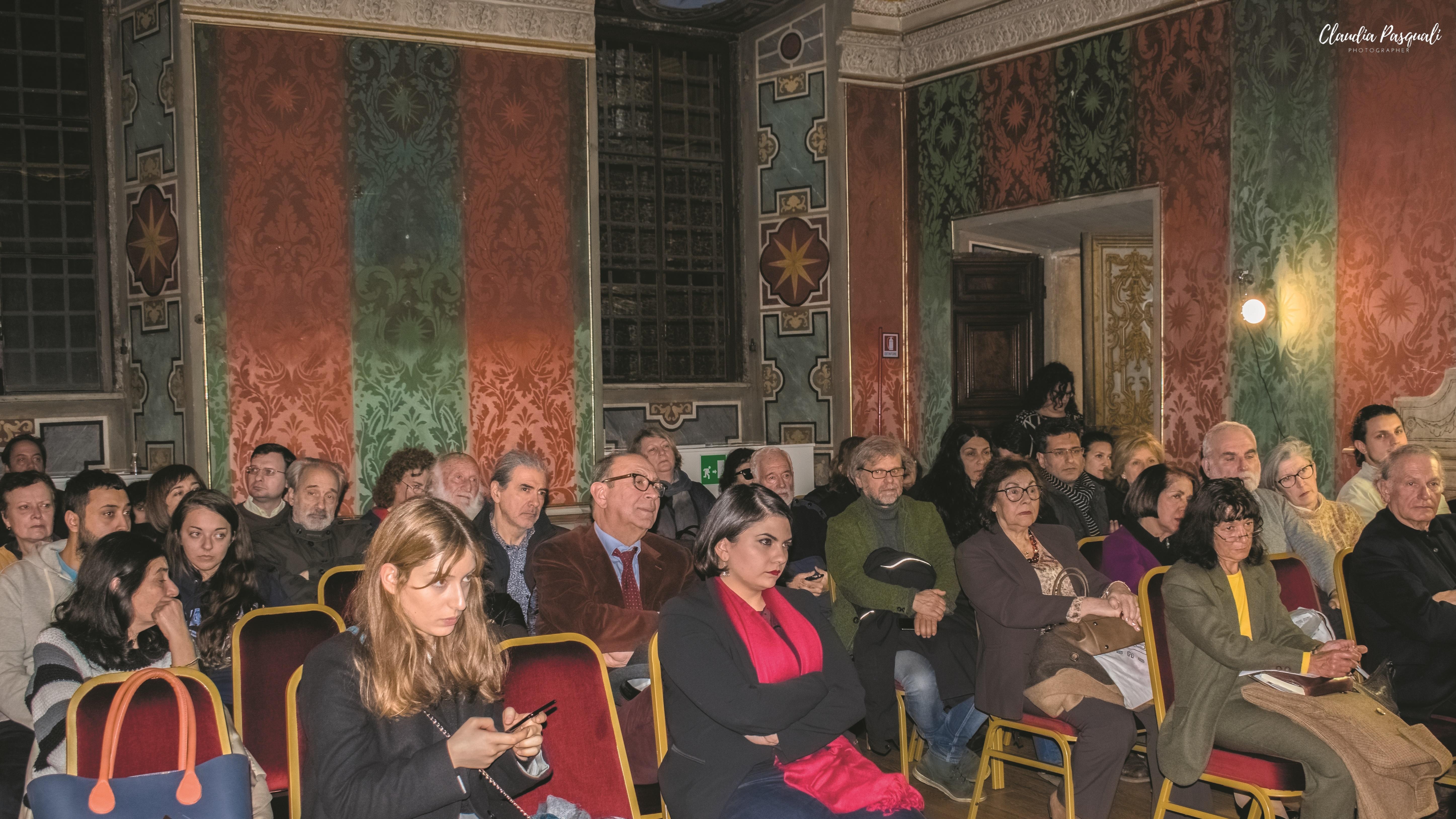 """Presentazione del libro """"Yunus Emre. Il libro dei consigli e le poesie"""". Il pubblico."""