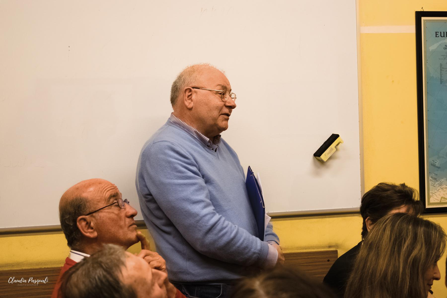Presentazione del libro Transiberiana di Vittorio Russo. L'intervento di Carlo Fredduzzi, preside dell'Ist. di Cultura e Lingua russa che ha ospitato la presentazione