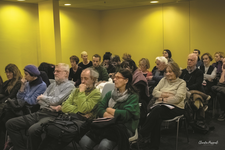 """Presentazione del libro di Marco Forneris """"Il Cinema de Il Calendario del Popolo"""" a Più Libri Più Liberi. Il pubblico."""