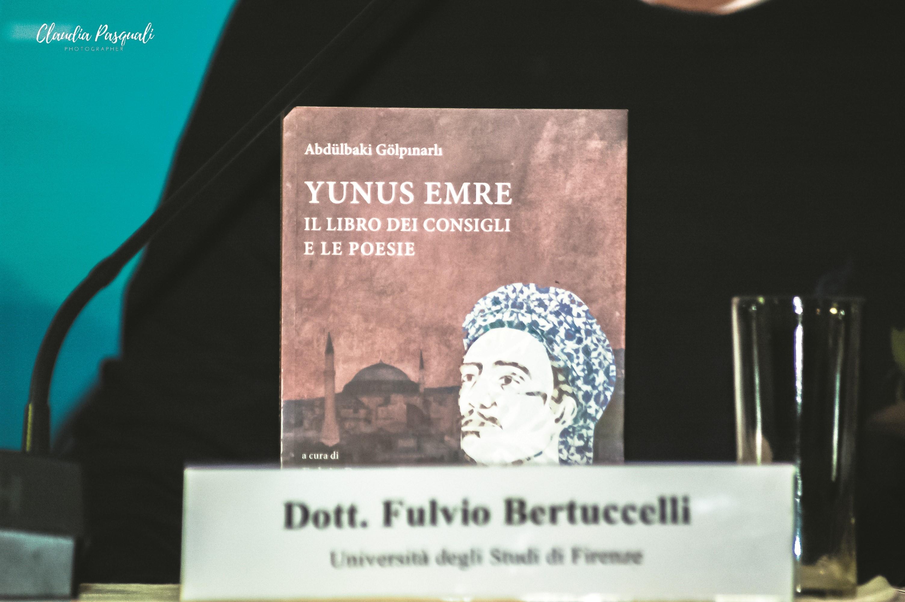 """Presentazione del libro """"Yunus Emre. Il libro dei consigli e le poesie""""."""