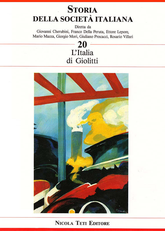 Volume 20 Giolitti's Italy