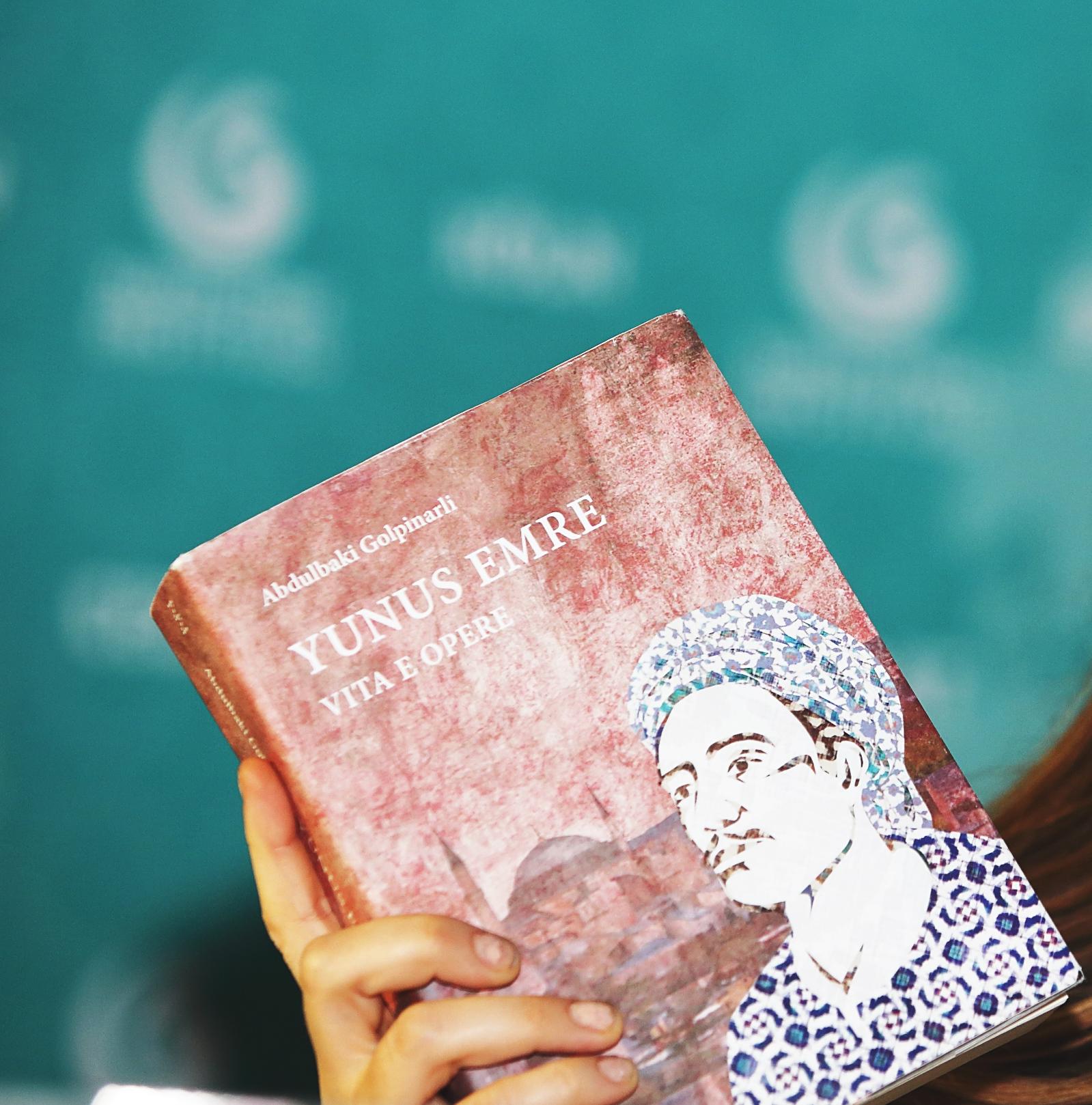 """Presentazione del nostro libro: """"Yunus Emre. Vita e opere"""" di Abdulbaki Golpinarli (In preparazione)."""