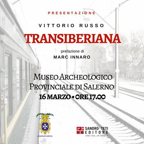 Presentazione del libro Transiberiana a Salerno