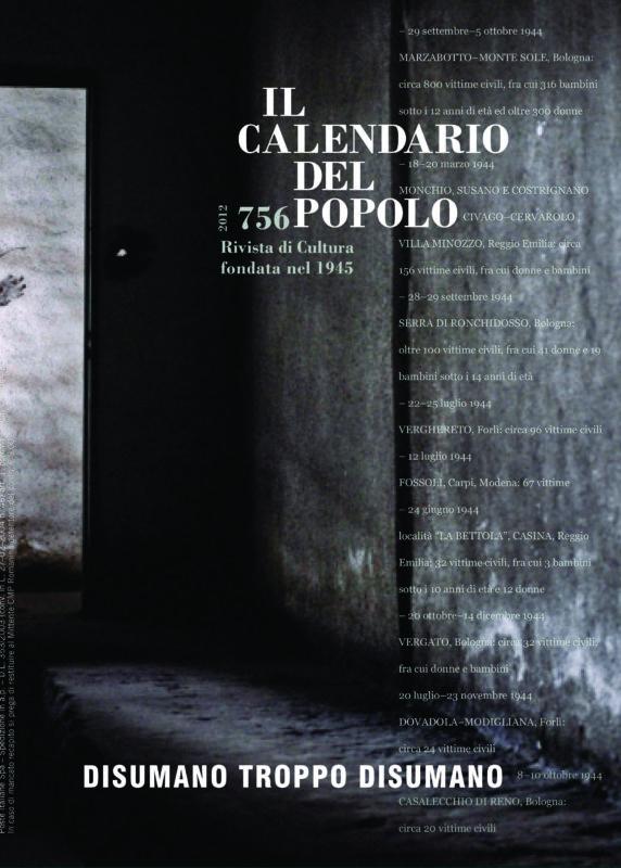 Il Calendario del Popolo N. 756 (2012)