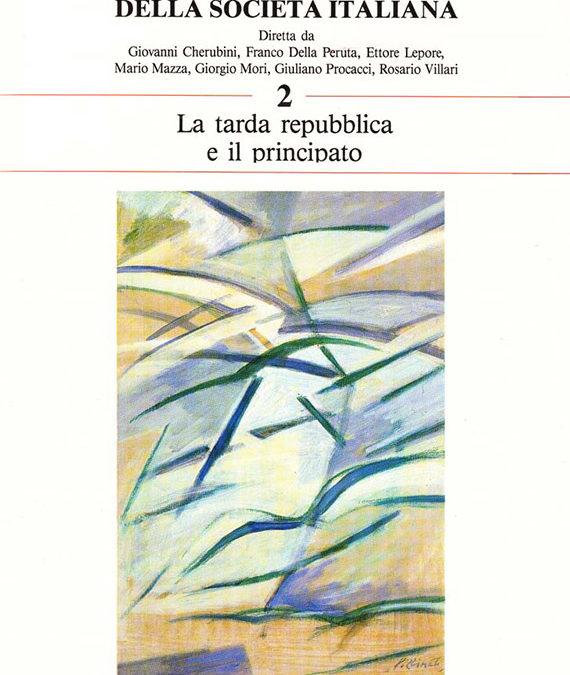 Volume 2 // La tarda Repubblica e il Principato