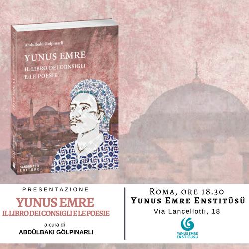 Presentazione del libro Yunus Emre. Il libro dei consigli e le poesie a Roma