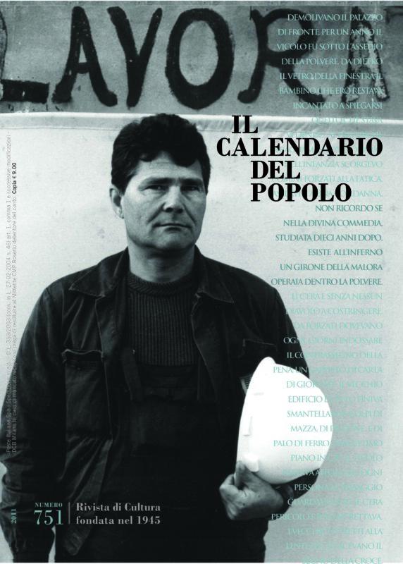 Il Calendario del Popolo N. 751 (2011)