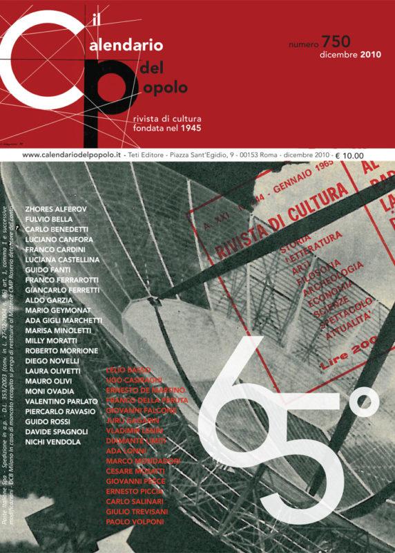 Il Calendario del Popolo N. 750 (2010)