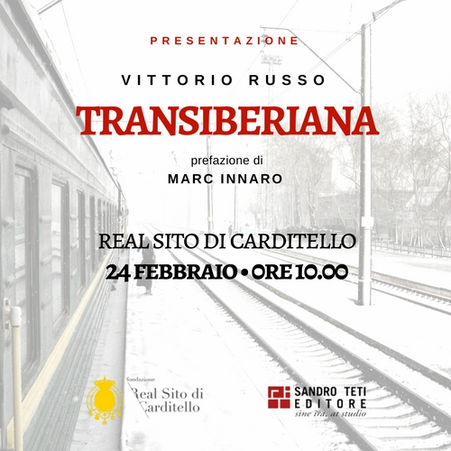 Presentazione del libro Transiberiana al Real Sito di Carditello