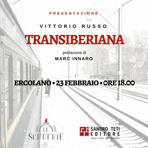 Presentazione del libro Transiberiana a Ercolano